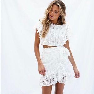 Sabo Skirt Allie Top and skirt set